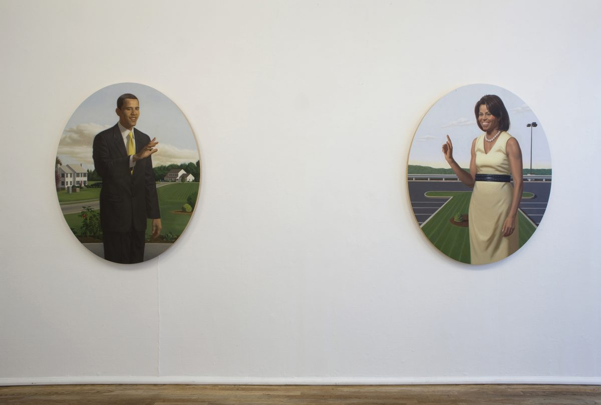 Barack and Michelle Obama- Deitch Projects, New York, NY – October 3–31, 2009