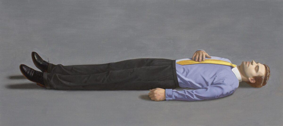 Kurt Kauper Man Lying Down 4