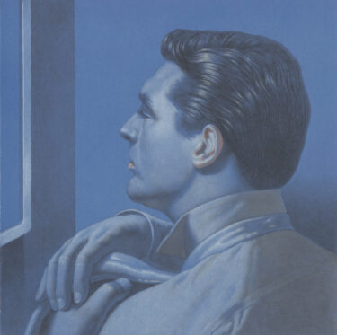 "Kurt Kauper Study for ""Watching Men #1: Cary Grant"""