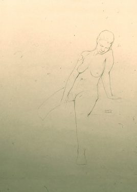 Kurt Kauper Figure Drawings