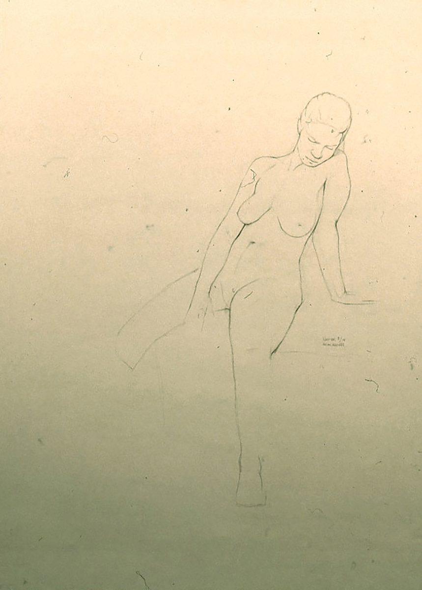 Kurt Kauper Figure Drawings