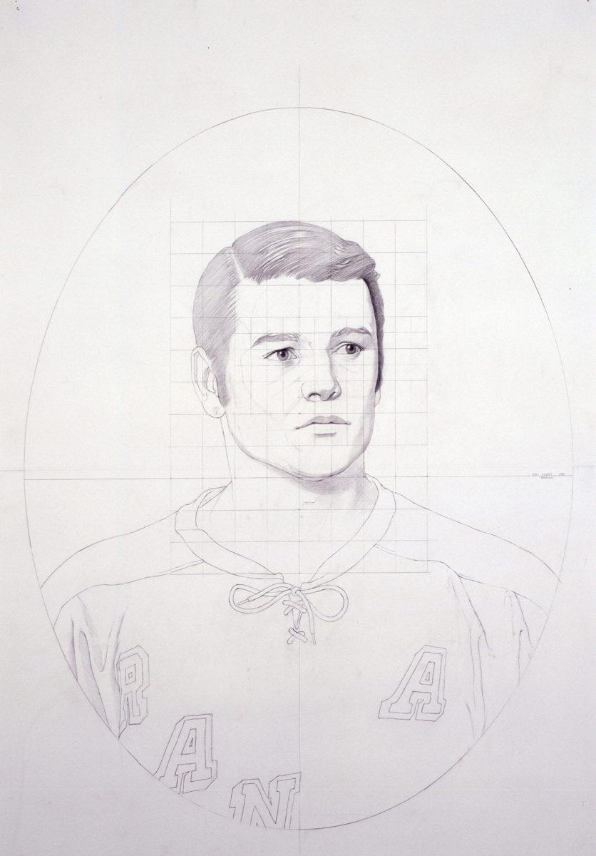 Kurt Kauper Study for Rodrique