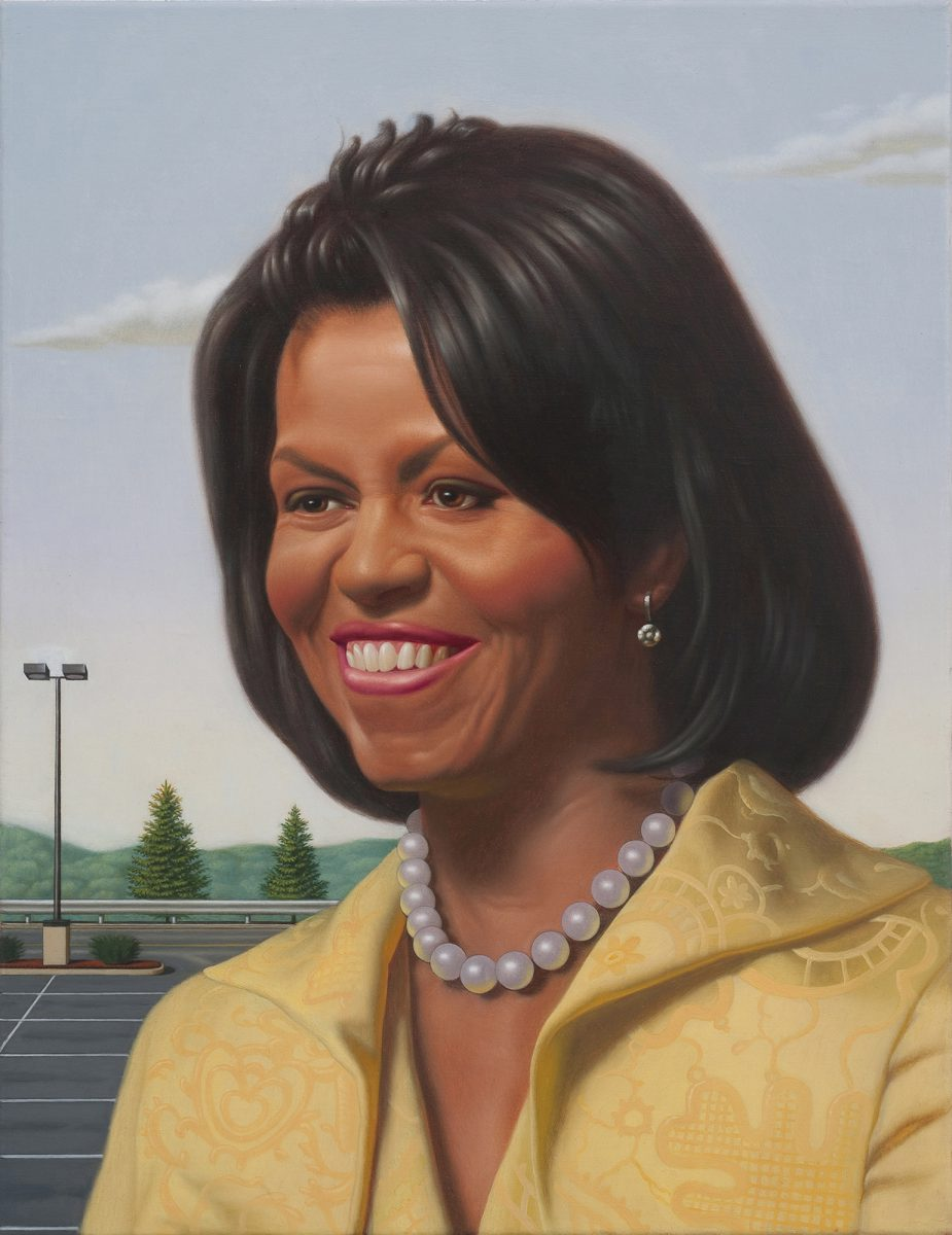 Kurt Kauper Study for Michelle Obama