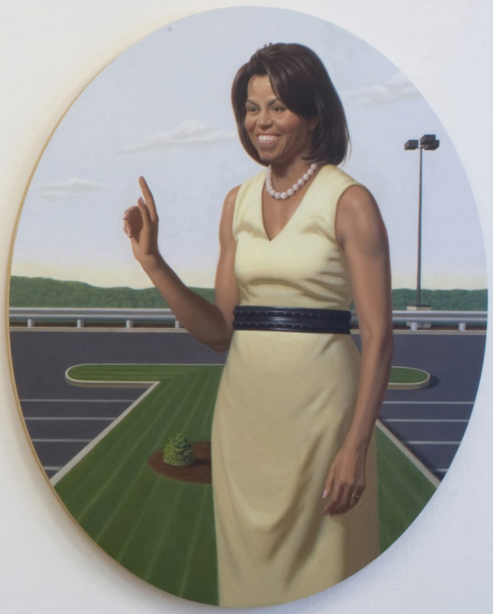 Kurt Kauper Michelle Obama