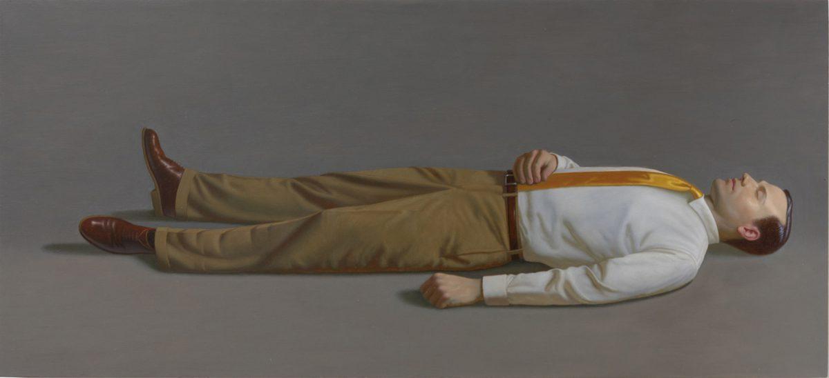 Kurt Kauper Man Lying Down 2