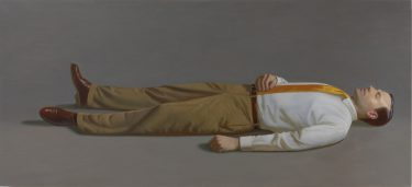 Kurt Kauper Man Lying Down 2