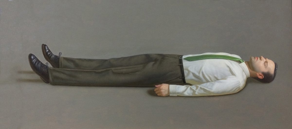 Kurt Kauper Man Lying Down 3