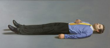 Kurt Kauper Man Lying Down 4