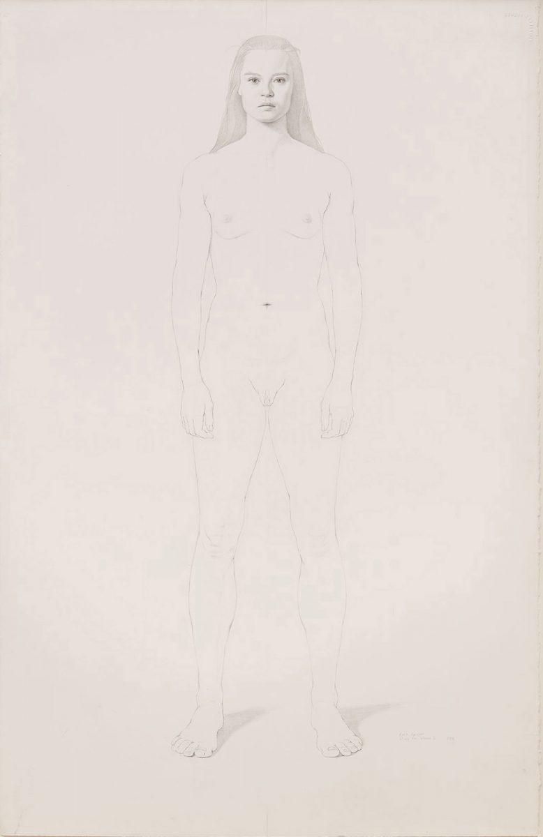 Kurt Kauper Study for Woman #2