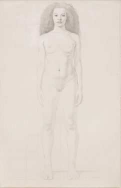 Kurt Kauper Study for Woman #3