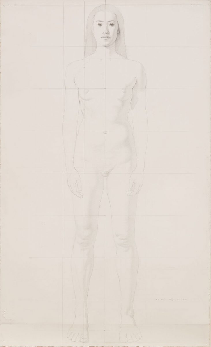 Kurt Kauper Study for Woman #4
