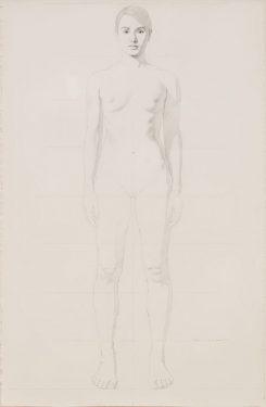 Kurt Kauper Study for Woman #5