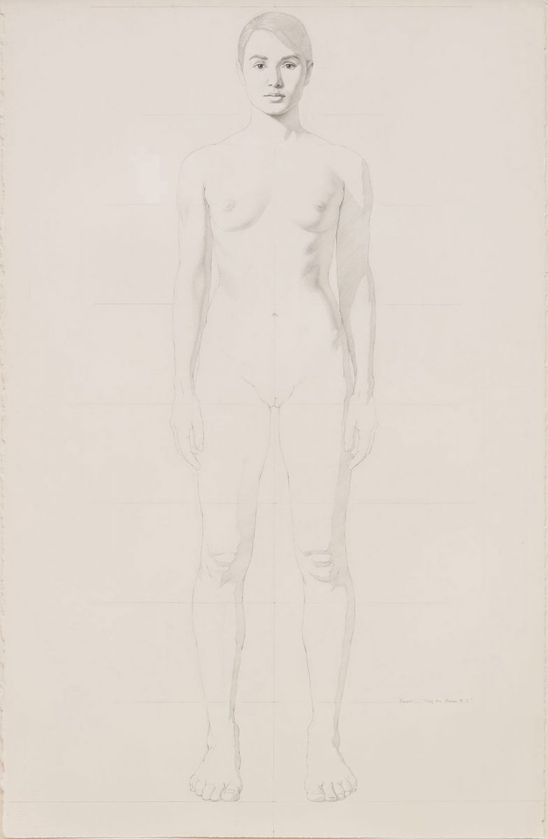 Kurt Kauper Study for Woman #5